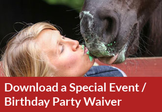 Download a Special Event / Birthday Party Waiver