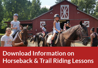 Download information on Horseback Riding Lessons and Trail Riding